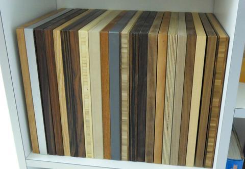 A look inside gregor bruhn 39 s workshop for Furniture quality plywood