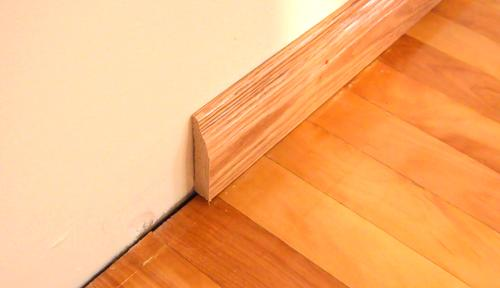 Top Coat Paint >> Installing baseboards
