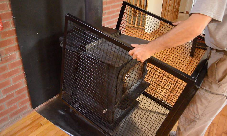 Wood Stove Toddler Fence Hearth Gate