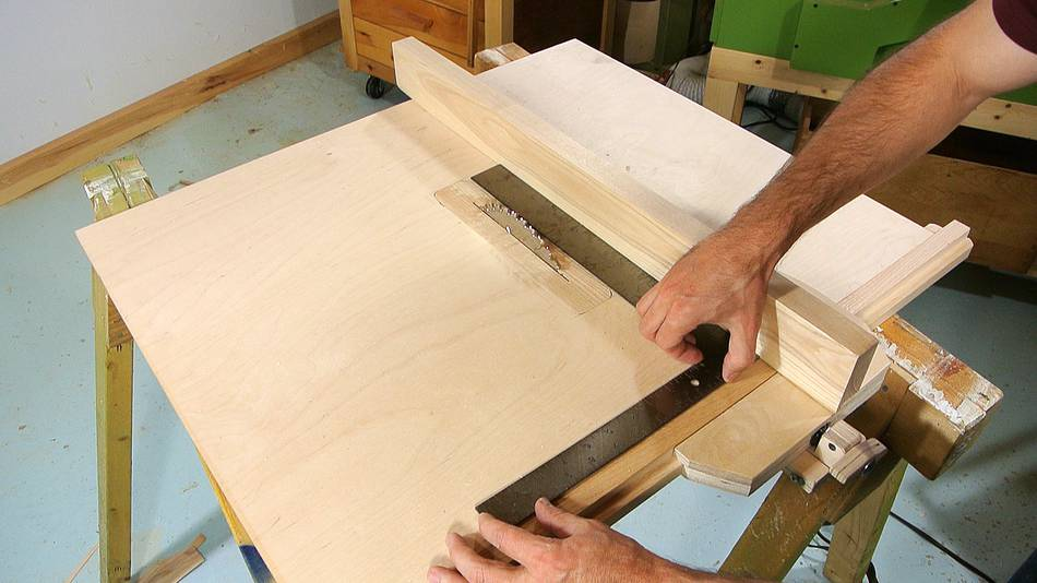 Table Saw Homemade The Best : Homemade tablesaw: Alignment, and miter slots