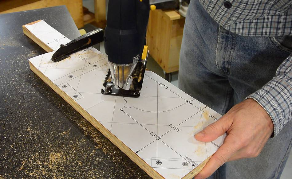 Homemade Table Saw Build Lift Mechanism