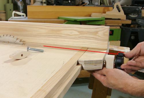 Gu a lateral casera para sierra de mesa - Guia para construir ...