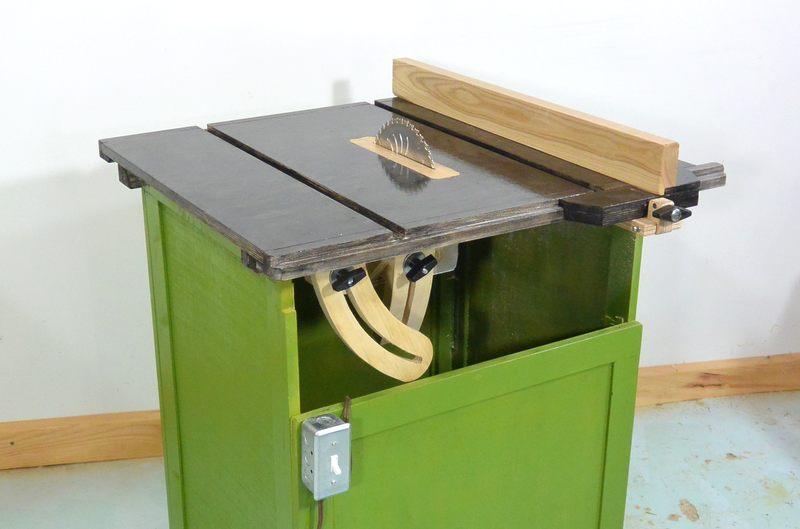 Fabricaci n de sierra de mesa casera for Sierras de mesa