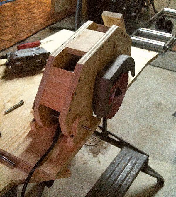 Table Saw Gears : Ian whatmough s homemade table saw