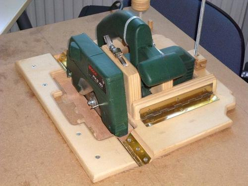 Wim Joostens Homemade Table Saw