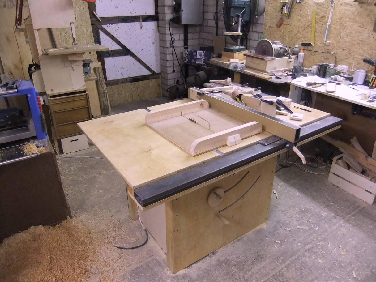 Sliding Tablesaw Homemade : Martynas Valunass homemade table saw