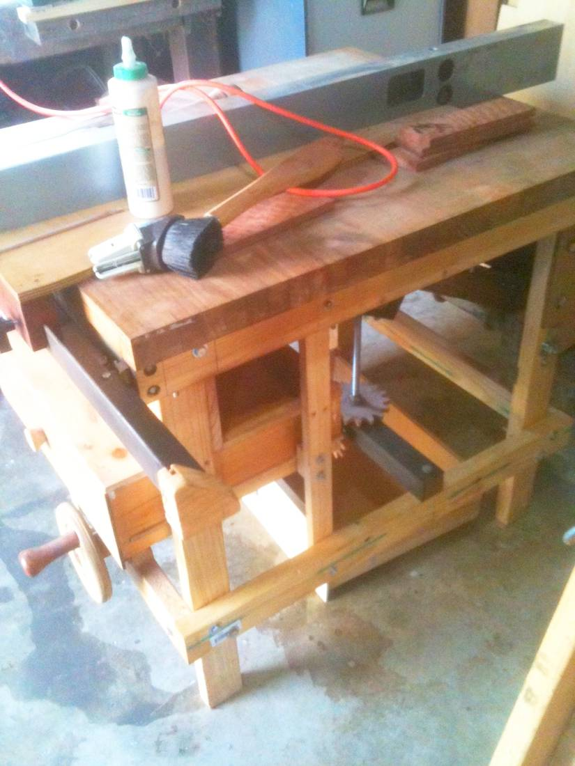 Nick Ockenden S Homemade Table Saw