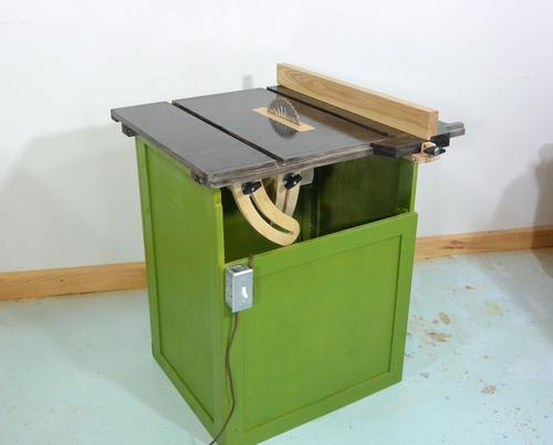 This homemade table saw project started out as an experiment,partially ...