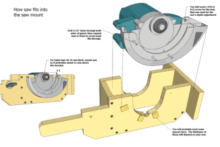 Homemade table saw plans preview on