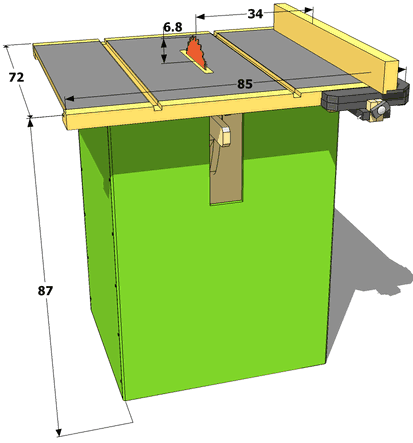 Make Table Saw From Circular Saw