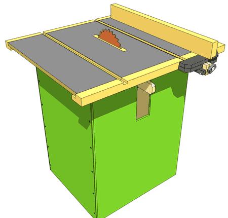 Homemade Table Saw Plans