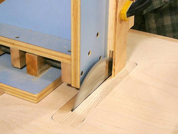 Homemade Table Saw Stand