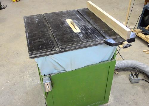 why i'm building another homemade table saw