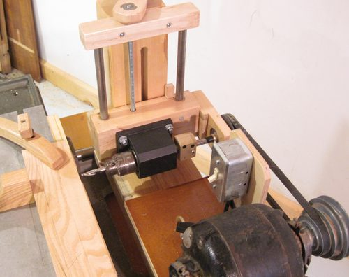 CIPTAREKAMESIN: Homemade horizontal boring machine