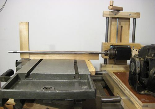 Homemade Horizontal Boring Machine