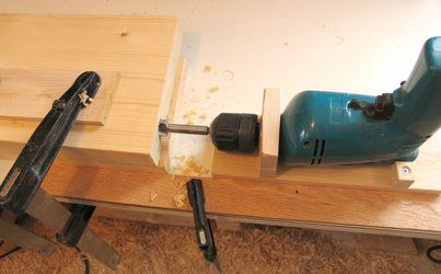 Horizontal Drill Press Jig