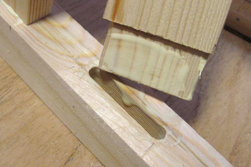 Wood Joint Strength Testing