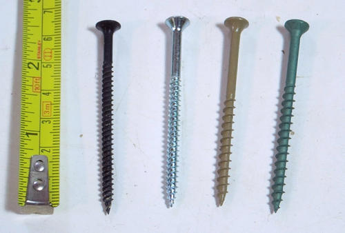 Drywall Screws Vs Other Types Of Wood Screws