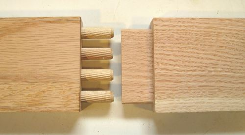 Excellent Wood Joints With Dowels