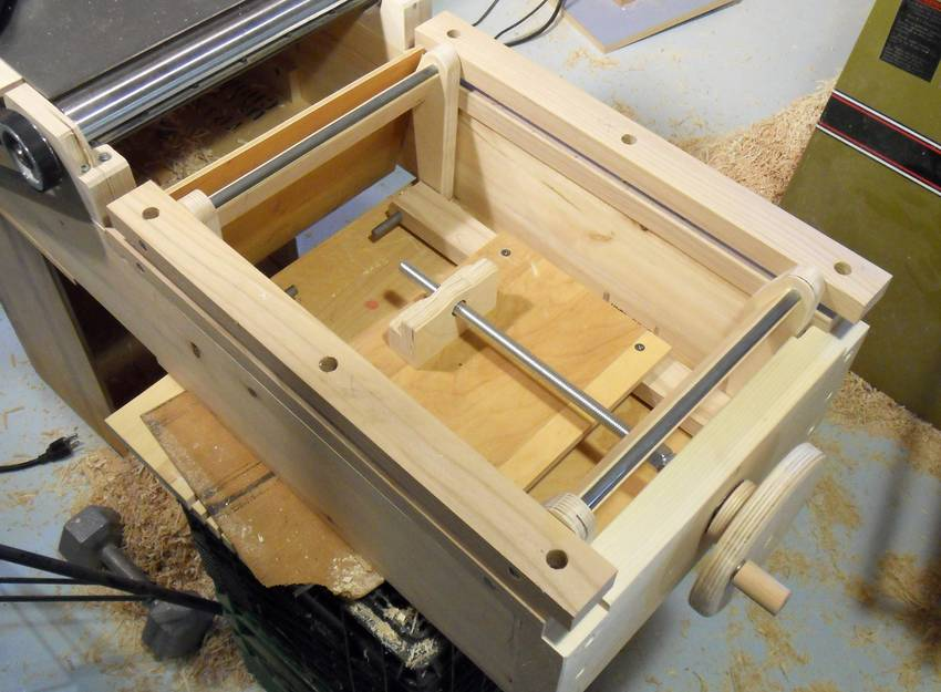 Building A Jointer Part 2