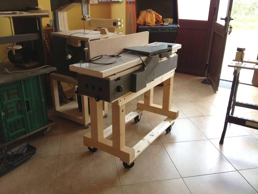 Giuseppe Gaddi S Homemade Jointer