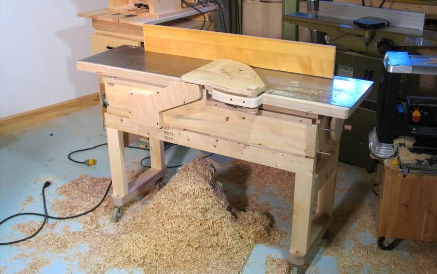 Building A Jointer Part 2