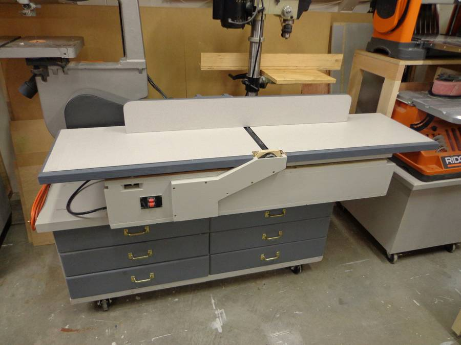 Stephen Surber S Homemade Jointer