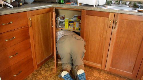 Kitchen Cabinet Organizer Boxes
