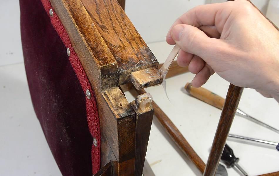 Scarf Joint Wood Splice Chair Repair
