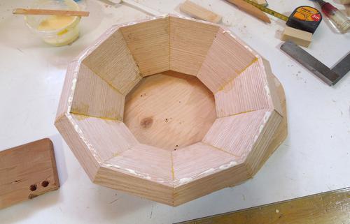 Turning A Segmented Bowl