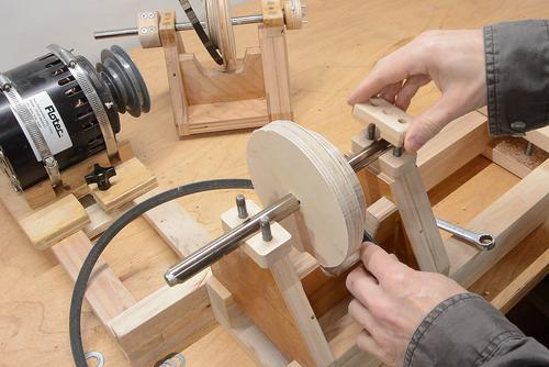 Homemade 4 Jaw Lathe Chuck And Face Plate