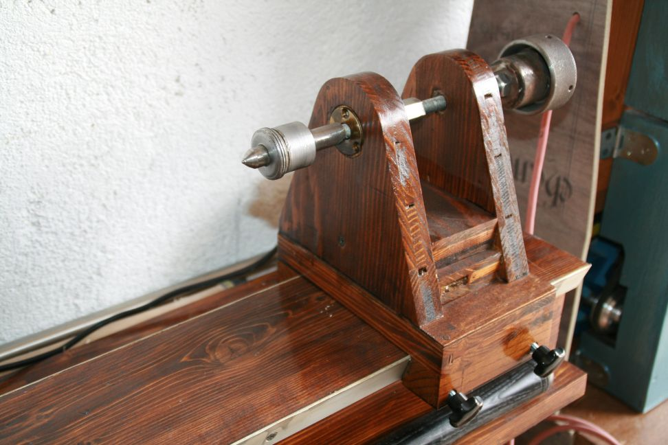 diy wood lathe