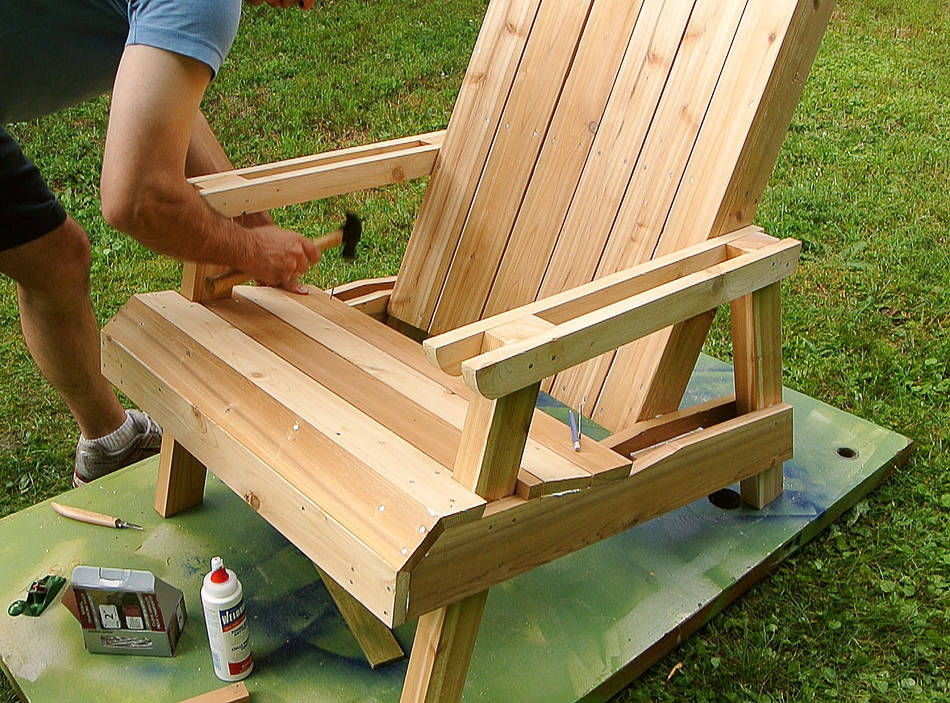 Wooden Lawn Chairs ~ Build wood lawn chairs pdf woodworking