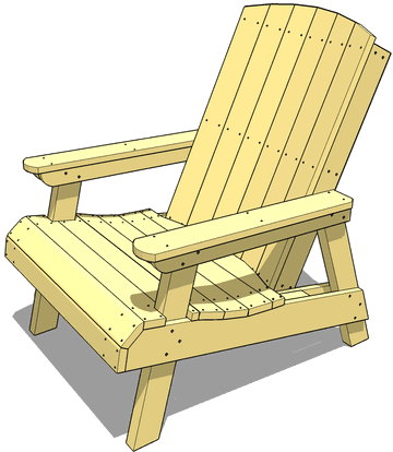 ... lawn chair plans are for the same lawn chair as the free version but