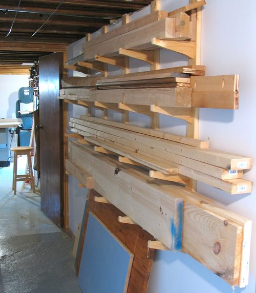 Vertical Lumber Rack Plans Furnitureplans