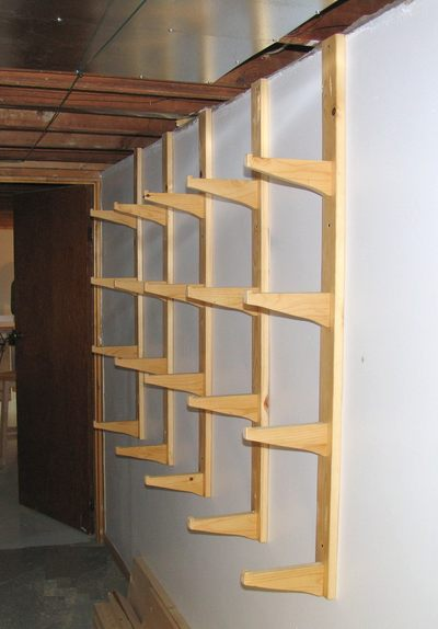 Plywood Storage Rack Free Plans