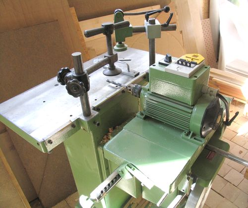 horizontal dowel boring machine