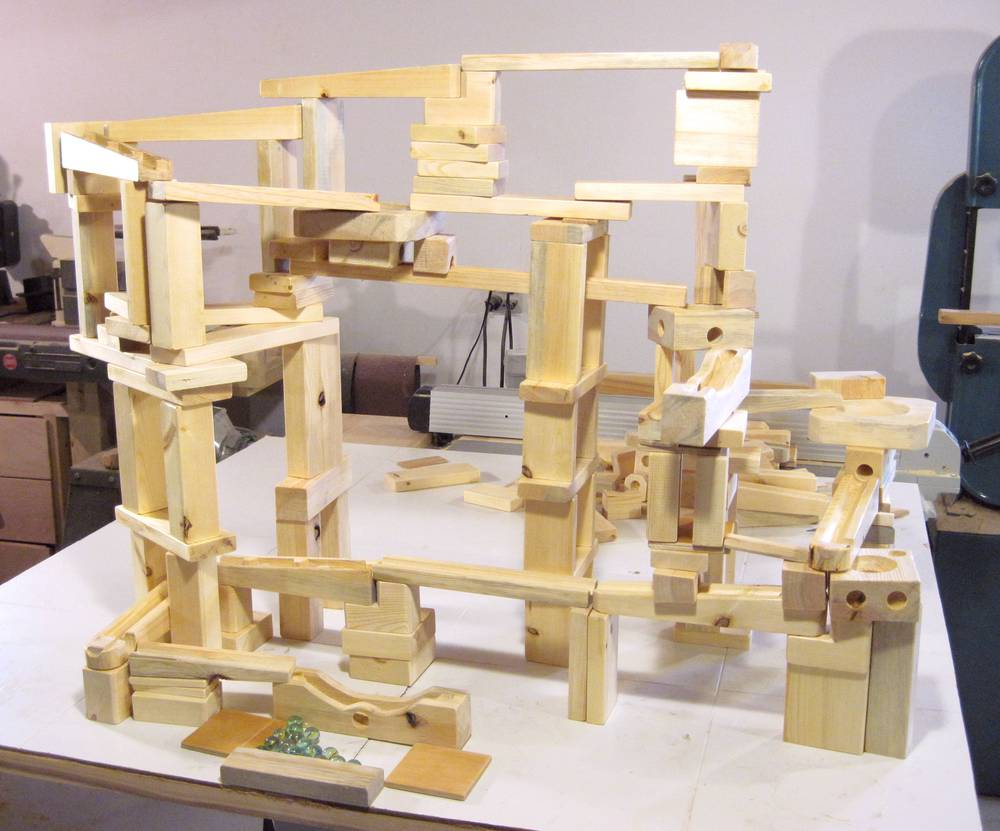 Marble Run Building Blocks
