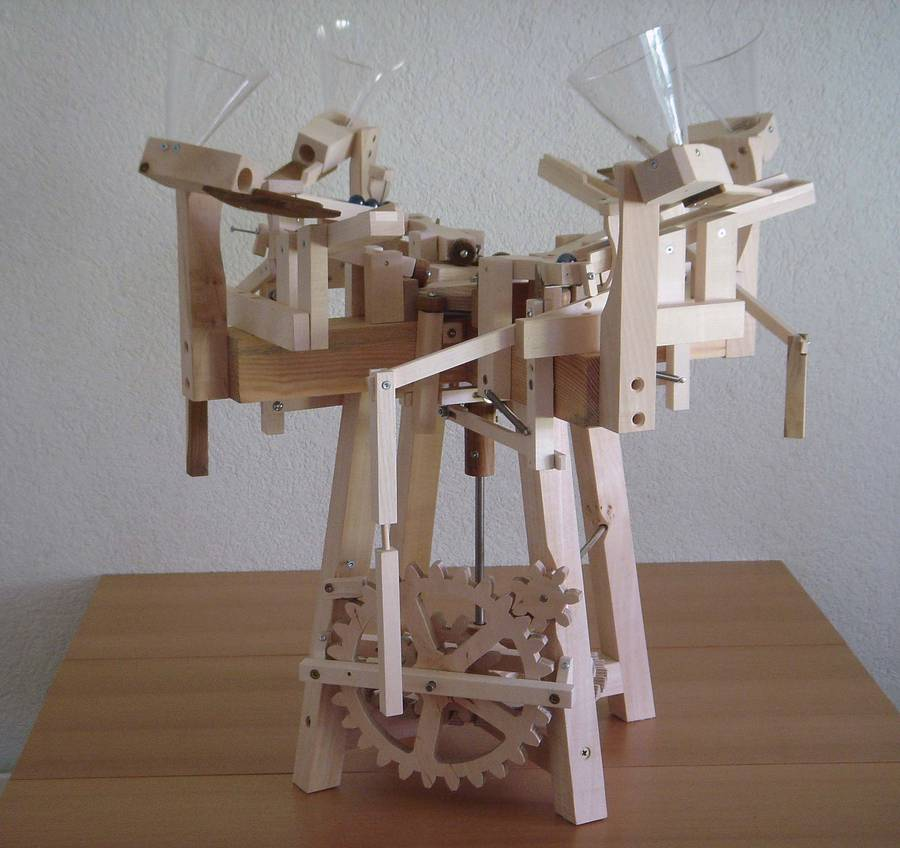 Seven Amazing Marble Machines By Paul Grundbacher