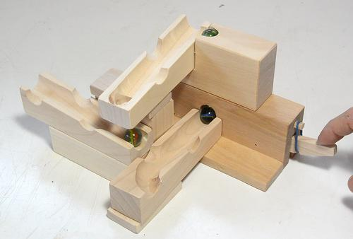 a simplified way to build the marble pump