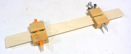Making Trammel Points For A Beam Compass