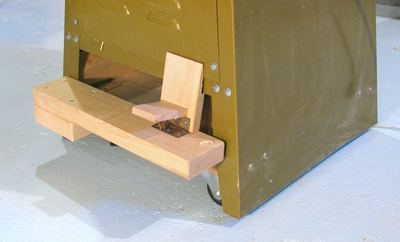 Bench Plan Woodworking Jointer Stand Here