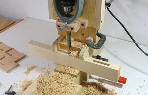 自制简易木工台锯
