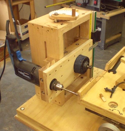 Horizontal Drill Press