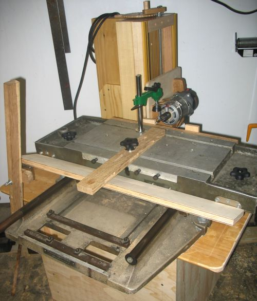 Shawn Havens Mill Drill Table Based Slot Mortiser