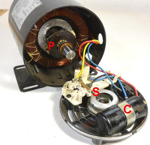 Reversing on 3 phase motor wiring