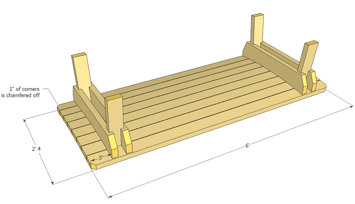 Napping bench plans