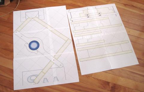 Fabricando el pant grafo for Programa para hacer planos a escala