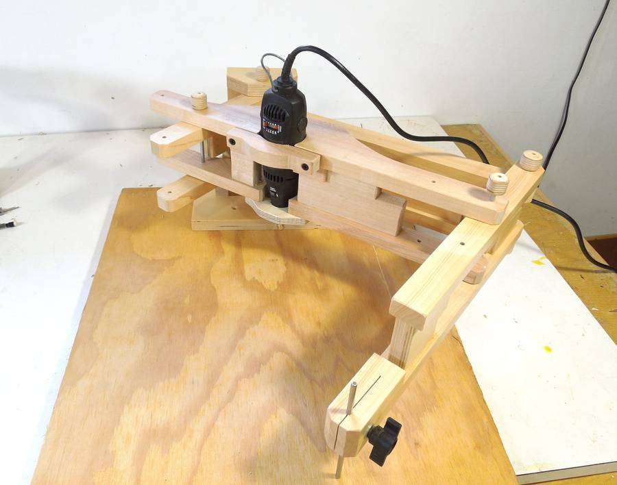 Dremel Tool Mount For The Pantograph