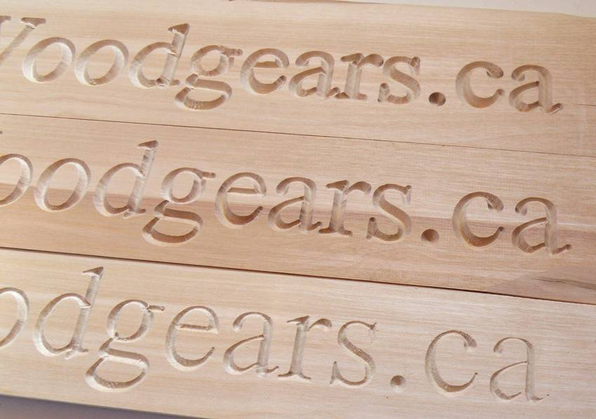 Wood Router Letter Templates